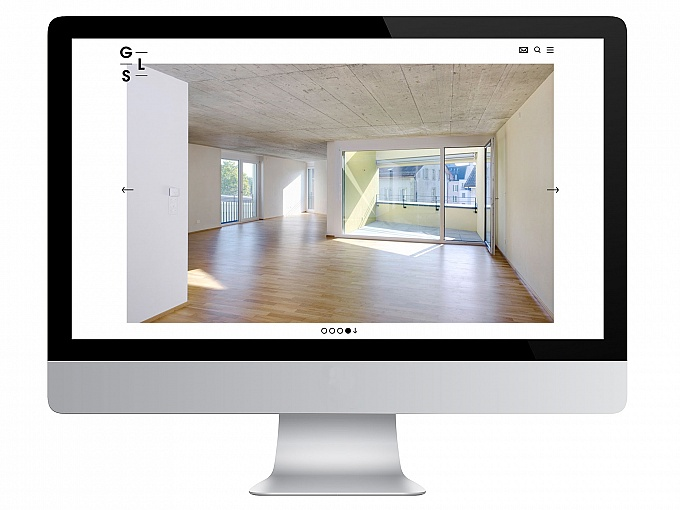 GLS Architekten, Website